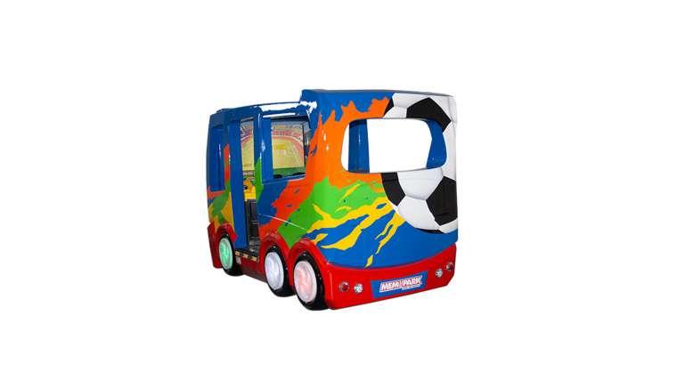 Fußball Bus